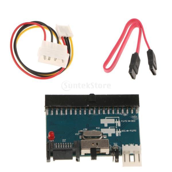 Homyl IDE → SATA 双方向 2ウェイ コンバータ アダプタ 変換ボード カード 交換性 便利性