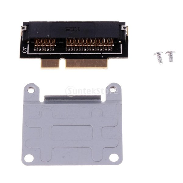 Fenteer Apple 2012 MACBOOK PRO laptop and IMAC: A1398 MC975 MC976に対応 mSATA SSD 2012年コネクタ ライザーカード