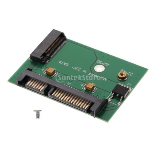 Fenteer 2.5インチ SATA ライザー カード M.2 NGFF アダプタ カード 108 * 67 * 4ミリメートル