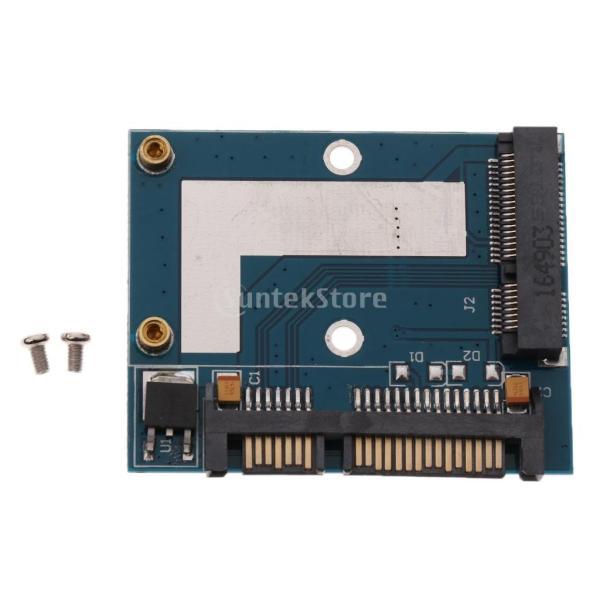 5cm SSD MSATA→2.5インチ SATA ハーフ ハイト アダプター 変換カード モジュール ボード|stk-shop