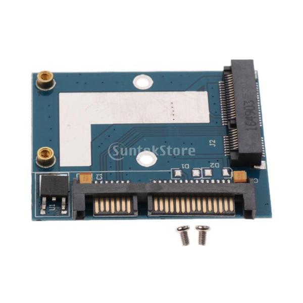 5cm SSD MSATA→2.5インチ SATA ハーフ ハイト アダプター 変換カード モジュール ボード|stk-shop|02