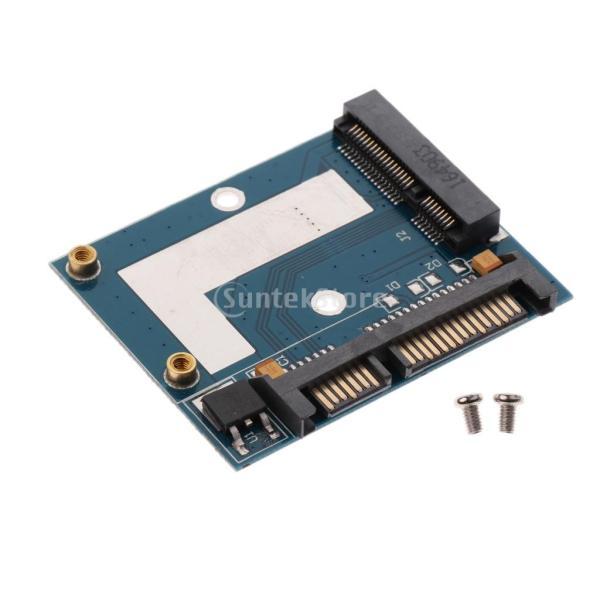 5cm SSD MSATA→2.5インチ SATA ハーフ ハイト アダプター 変換カード モジュール ボード|stk-shop|03