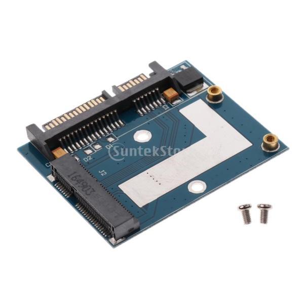 5cm SSD MSATA→2.5インチ SATA ハーフ ハイト アダプター 変換カード モジュール ボード|stk-shop|04