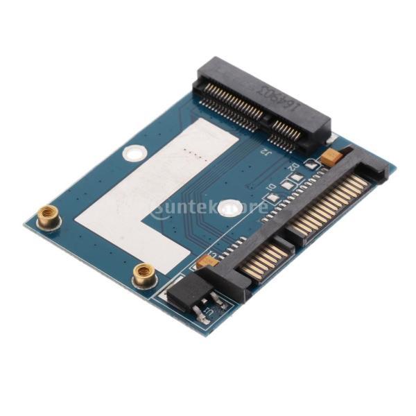 5cm SSD MSATA→2.5インチ SATA ハーフ ハイト アダプター 変換カード モジュール ボード|stk-shop|05