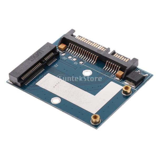 5cm SSD MSATA→2.5インチ SATA ハーフ ハイト アダプター 変換カード モジュール ボード|stk-shop|06
