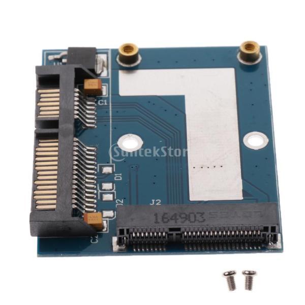 5cm SSD MSATA→2.5インチ SATA ハーフ ハイト アダプター 変換カード モジュール ボード|stk-shop|07