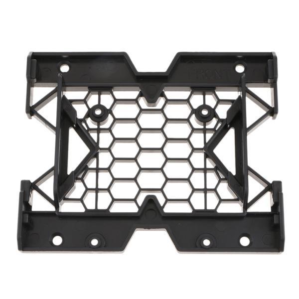 Fenteer 軽量 5ピース 5.25 〜3.5/2.5インチ  SSD HDD マウントブラケットホルダー 12cmファンポート