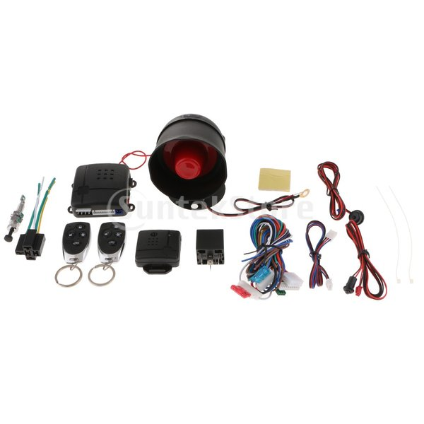 B Baosity キーレスエントリーシステムキット リモートキー 中央ドアロック ユニバーサル 車 高品質 安全|stk-shop