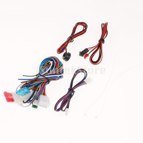 B Baosity キーレスエントリーシステムキット リモートキー 中央ドアロック ユニバーサル 車 高品質 安全|stk-shop|02