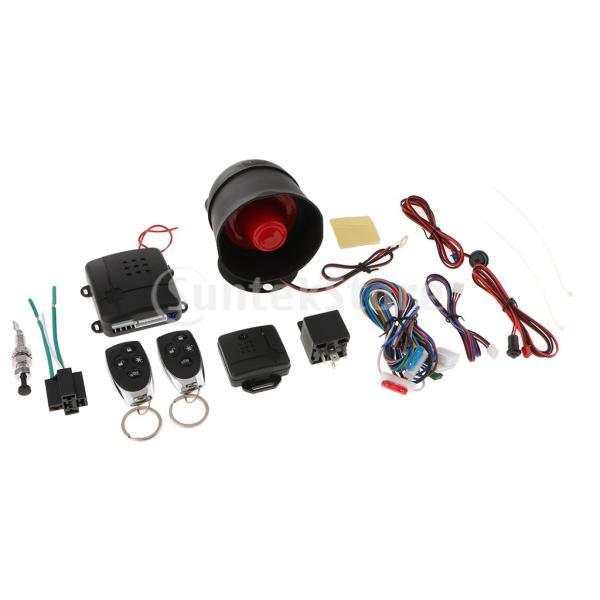 B Baosity キーレスエントリーシステムキット リモートキー 中央ドアロック ユニバーサル 車 高品質 安全|stk-shop|07