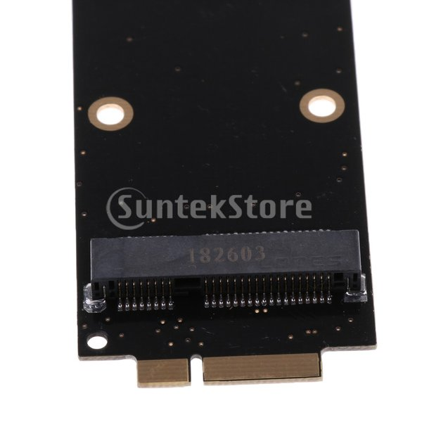 B Blesiya mSATA SSDコンバータボード 2012 Macbook Pro A1425 Me662用