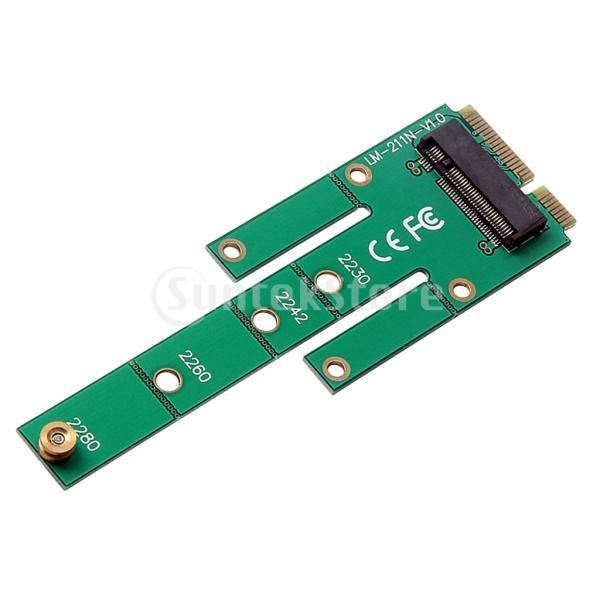 mSATA PCI-E SATA 3.0 SSDオスアダプタコンバータカードへのNGFF M.2 B + Mキー