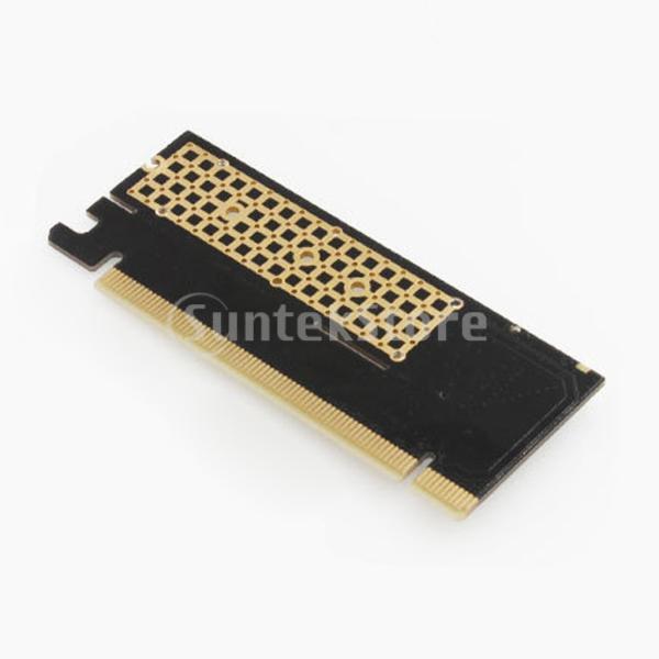 NVME M.2 NGFF拡張カードアダプターSupprot Mキー高速へのPCIE3.0 16X
