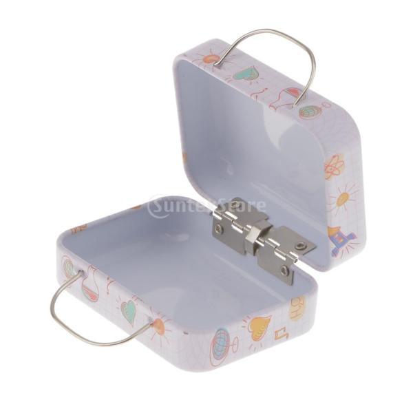 金属 ハンドヘルド ボックス 収納 ティー お茶 キャンディ ボックス お菓子ケース 雑貨 装飾 全5様式  - 様式4|stk-shop|04