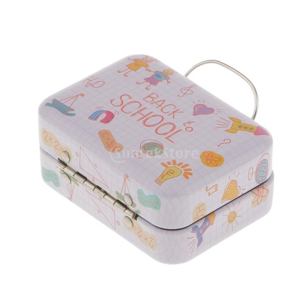 金属 ハンドヘルド ボックス 収納 ティー お茶 キャンディ ボックス お菓子ケース 雑貨 装飾 全5様式  - 様式4|stk-shop|07