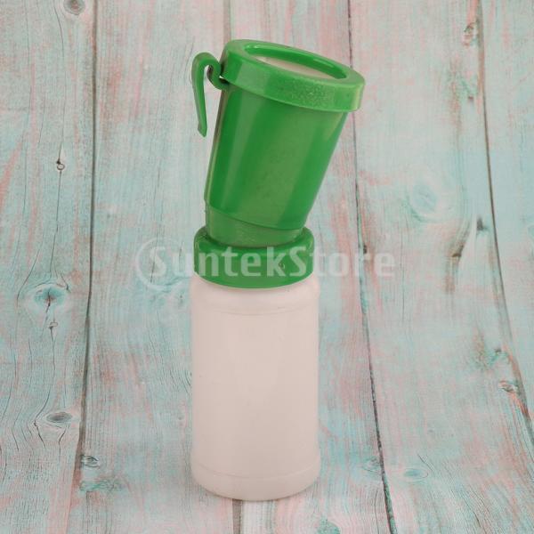 ディップカップ ボトル プラスチック 家畜用 牛/羊 乳首 クリーニング 洗浄 消毒 飼育用品 実用