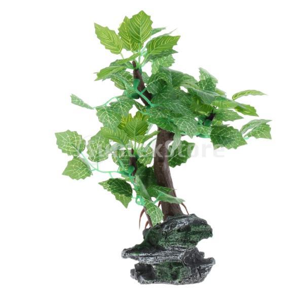 水族館飾り水生植物の装飾水中木11選択620L