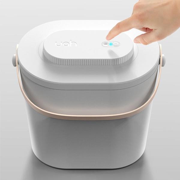 自動真空密封ペット食品貯蔵容器、11lb / 12L、自動電子気密食品貯蔵ビンボックス、食品グレードBPAフリーABS、猫、犬、鳥用