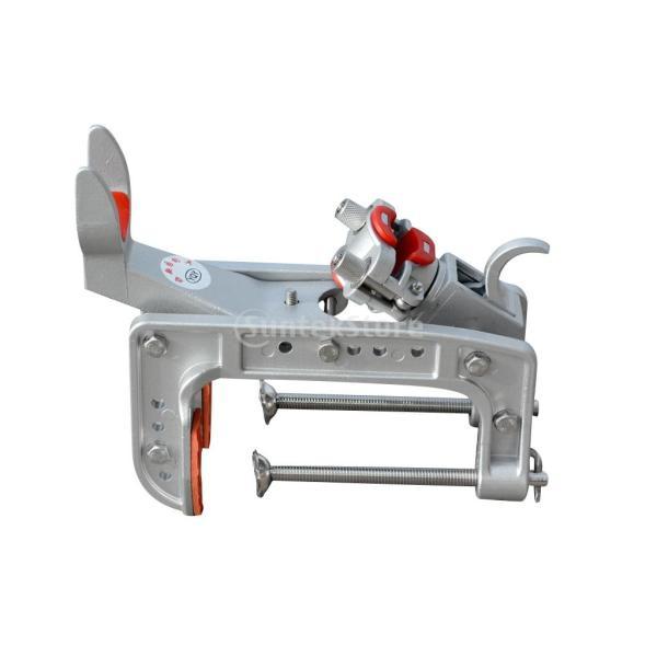 釣竿ポールスタンド 船釣り ブラケット サポート ホルダー 海釣り ボート 調節可能 ツール クランプ
