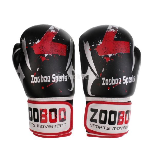 1ペア PU  ボクシング グローブ  スパーリング   ムエタイ   キックボクシング  MMA  パンチ バッグ 空手 ミット 手袋|stk-shop