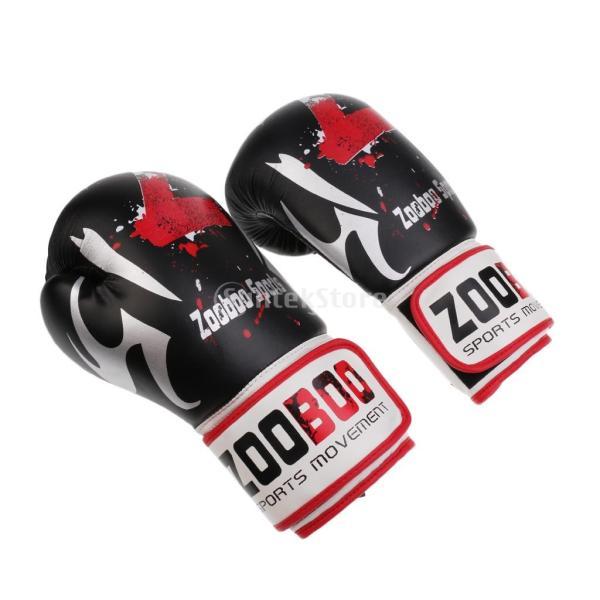 1ペア PU  ボクシング グローブ  スパーリング   ムエタイ   キックボクシング  MMA  パンチ バッグ 空手 ミット 手袋|stk-shop|02