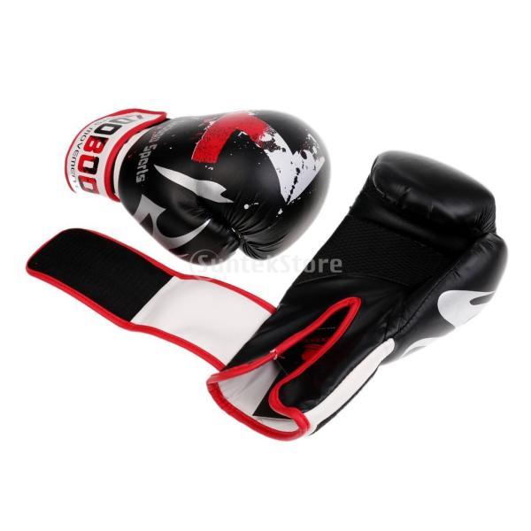 1ペア PU  ボクシング グローブ  スパーリング   ムエタイ   キックボクシング  MMA  パンチ バッグ 空手 ミット 手袋|stk-shop|05