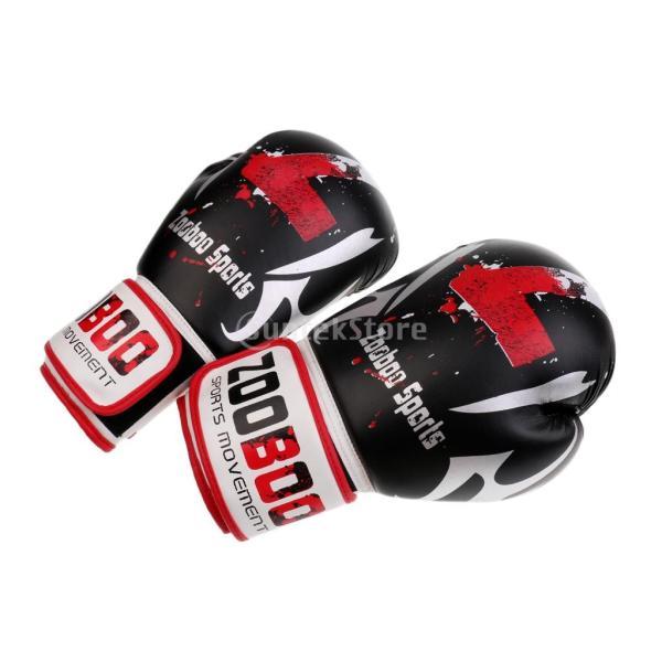 1ペア PU  ボクシング グローブ  スパーリング   ムエタイ   キックボクシング  MMA  パンチ バッグ 空手 ミット 手袋|stk-shop|06