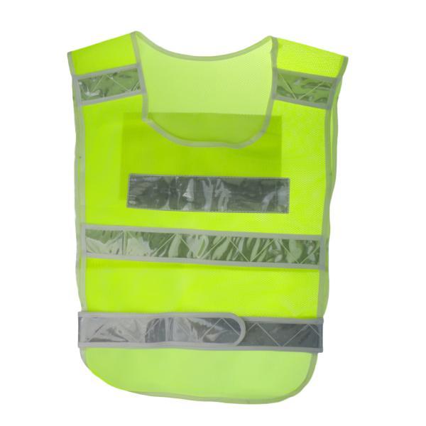 高い視認性 安全ベスト セキュリティ ベスト 反射ストライプ 大人