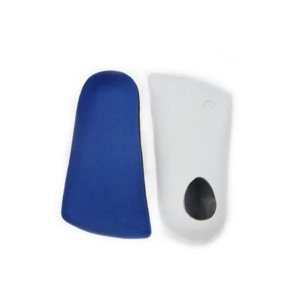 Fenteer インソール 1対 3/4長さ 矯正靴  パッド  足のかかと  クッション  痛みの軽減  サポート   全5サイズ - 藍色, XS