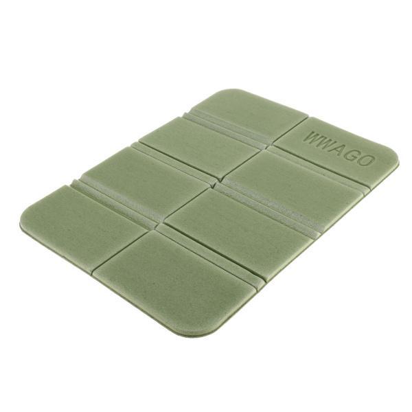 ポータブル折り畳み式シートクッションxpeフォームマットキャンプ防水パッドグリーン