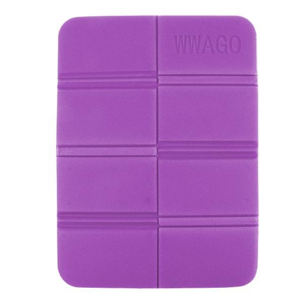日焼け止め 折り畳み式 XPE シートクッション シートパッド キャンプ ピクニック用 防水マット 全4色  - 紫