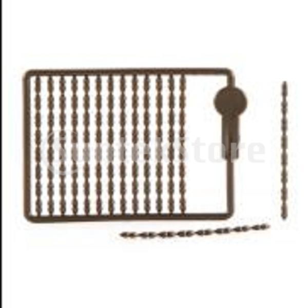 20枚のカード/ 2400枚のコイの釣りの毛の装備のボイリーの餌のルアーのダンベルはストッパーを止めます