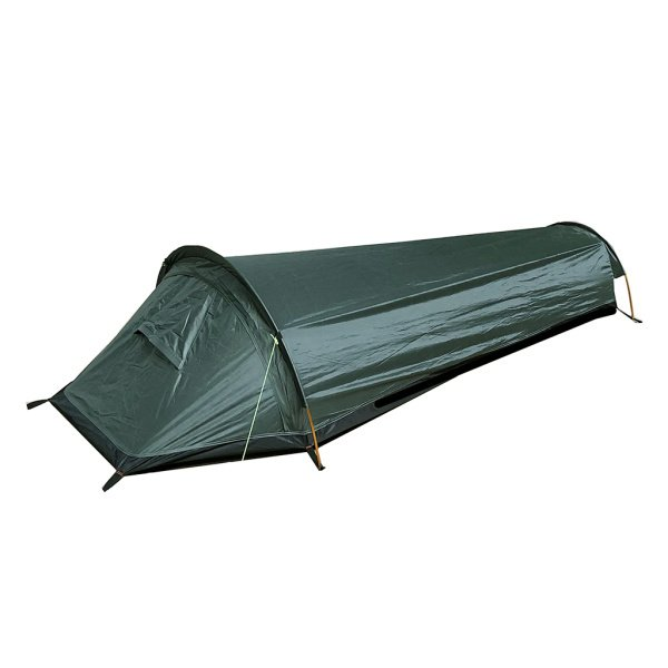 ポータブルキャンプテントビーチシェルター寝袋1人用