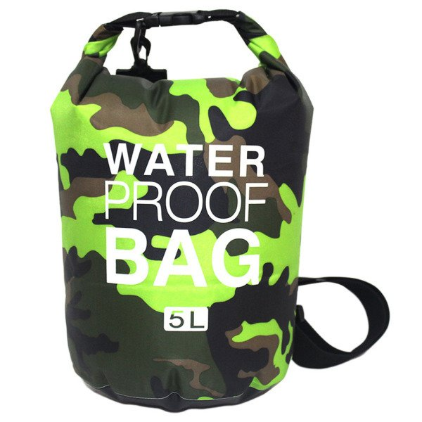 防水ドライバッグサーフィン袋屋外カヤックボート用スイミング収納ポーチ圧縮バッグ - カラー