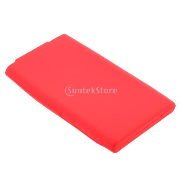 ニューアップル ipod Nano 第7世代 7Gカバーシェルに対応 TPU ゲル ケース 全7色 - 赤