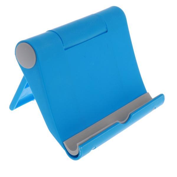 送料無料 iPad適用 タブレットスタンド 270度回転 卓上 スマホホルダー 折り畳み式 全5色 ユニバーサル|stk-shop