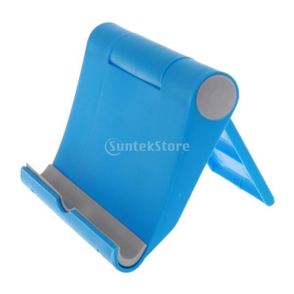送料無料 iPad適用 タブレットスタンド 270度回転 卓上 スマホホルダー 折り畳み式 全5色 ユニバーサル|stk-shop|02