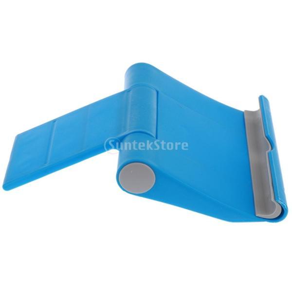 送料無料 iPad適用 タブレットスタンド 270度回転 卓上 スマホホルダー 折り畳み式 全5色 ユニバーサル|stk-shop|11