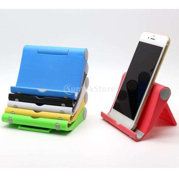 送料無料 iPad適用 タブレットスタンド 270度回転 卓上 スマホホルダー 折り畳み式 全5色 ユニバーサル|stk-shop|12