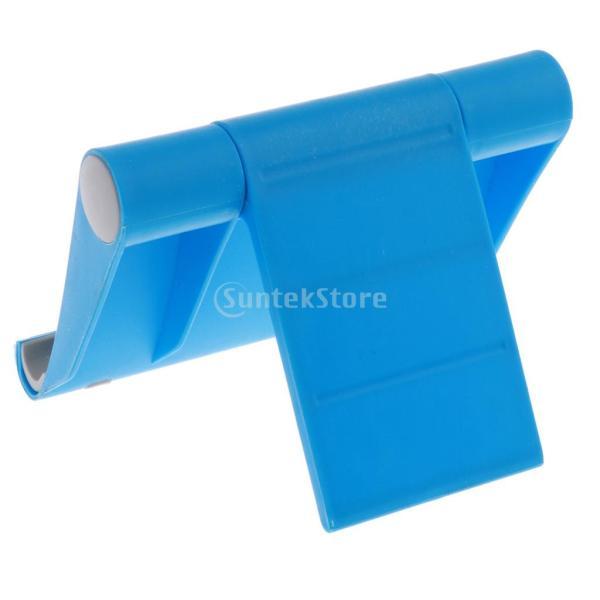 送料無料 iPad適用 タブレットスタンド 270度回転 卓上 スマホホルダー 折り畳み式 全5色 ユニバーサル|stk-shop|03