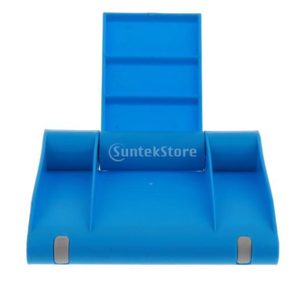 送料無料 iPad適用 タブレットスタンド 270度回転 卓上 スマホホルダー 折り畳み式 全5色 ユニバーサル|stk-shop|09