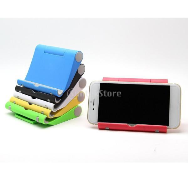 送料無料 iPad適用 タブレットスタンド 270度回転 卓上 スマホホルダー 折り畳み式 全5色 ユニバーサル|stk-shop|10