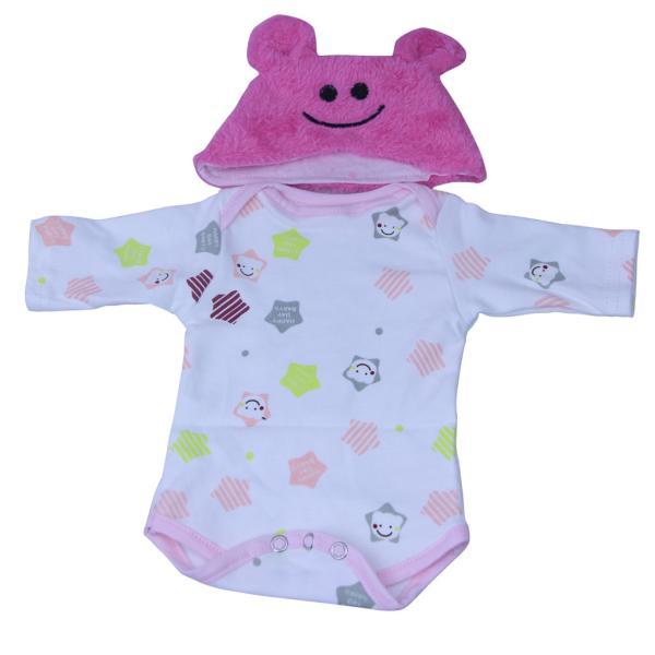 16‐18インチリボーンベビードール人形の服 ファッション ロンパース 帽子 毛布スーツ|stk-shop|05