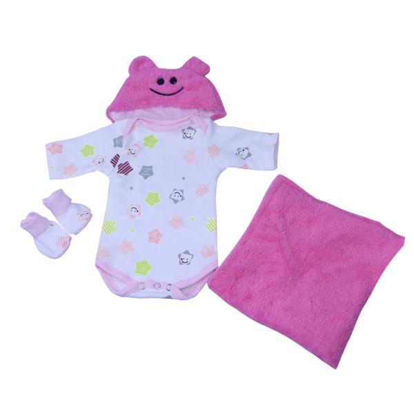 16‐18インチリボーンベビードール人形の服 ファッション ロンパース 帽子 毛布スーツ|stk-shop|09