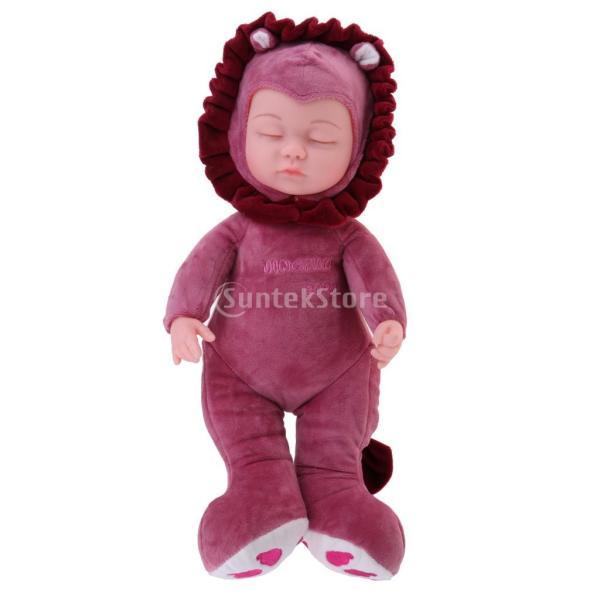 35cm シミュレーション 睡眠の赤ちゃん人形 ぬいぐるみ 誕生日プレゼント