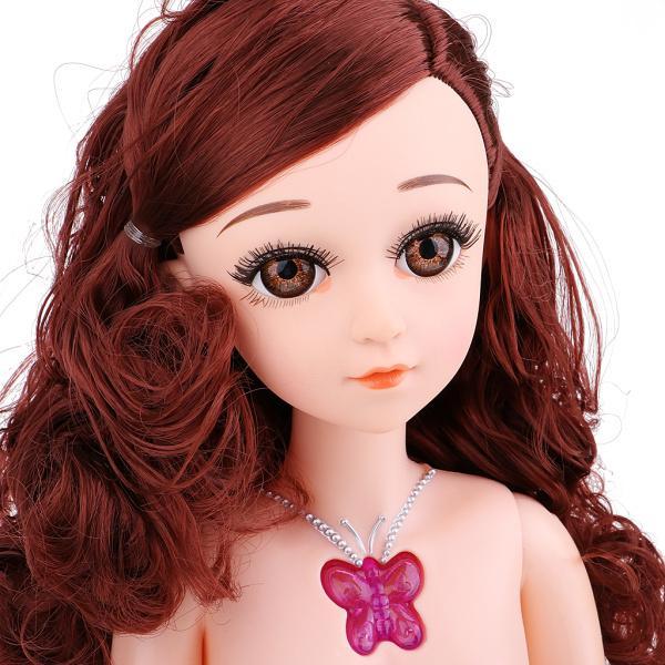 1/3BJD バービードール人形 高品質 15ジョイント ヌードドールボディ 服なし 全4色選択 - #2 stk-shop 04