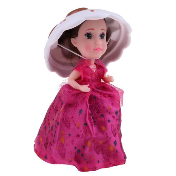 かわいい変換カップケーキ驚きの王女の人形の子供ギフトおもちゃ