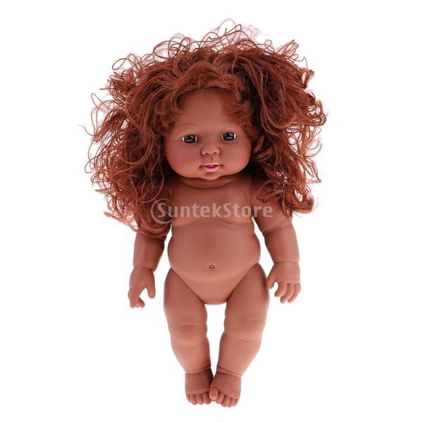 4fc33a648c73d4 全3色 30cm 新生児 赤ちゃんドール ベビー ケア トレーニング ヌードボディ 抱き人形 リアル ベビー人形 ...