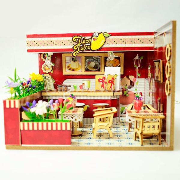 9色選択 DIYドールハウス 部屋家具 1/24スケール リビングルーム ベッドルーム 家具 装飾 - #7
