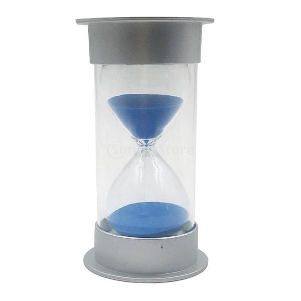 4種選べる 砂時計 タイマー 家 オフィス 素晴らしい 装飾 タイミング料理 ゲーム 運動 時間管理 道具 - 青20秒